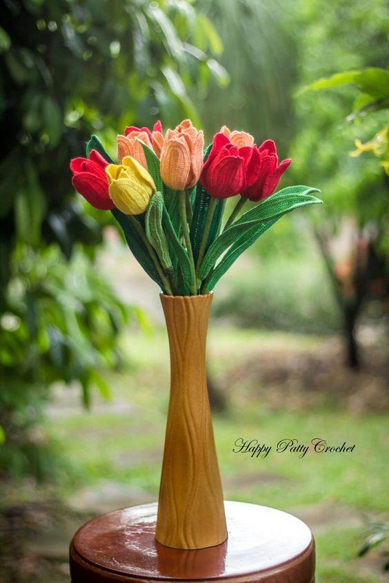 ramo flores crochet-decoracion-otakulandia.es (19)