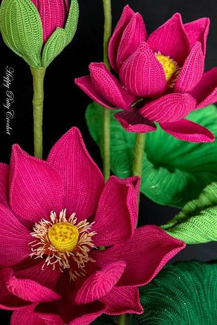 ramo flores crochet-decoracion-otakulandia.es (2)