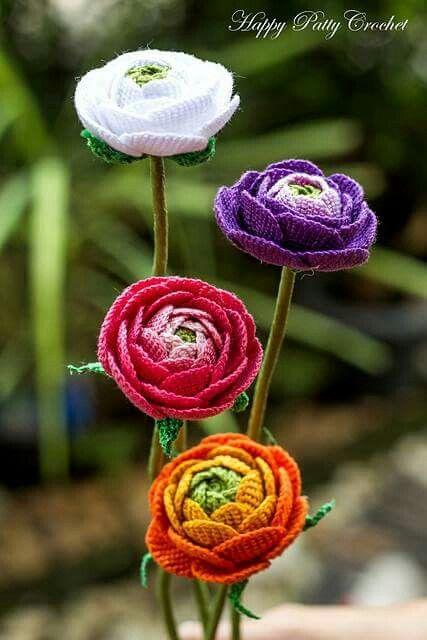 ramo flores crochet-decoracion-otakulandia.es (22)