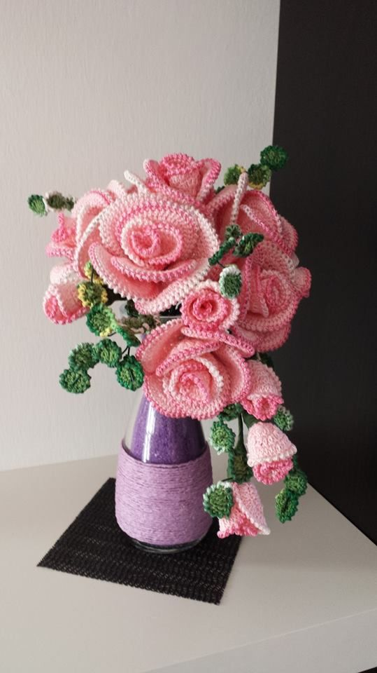 ramo flores crochet-decoracion-otakulandia.es (26)