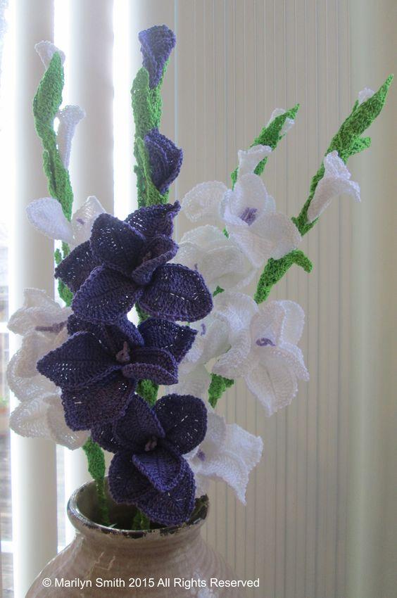 ramo flores crochet-decoracion-otakulandia.es (4)
