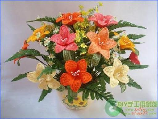 ramo flores crochet-decoracion-otakulandia.es (53)