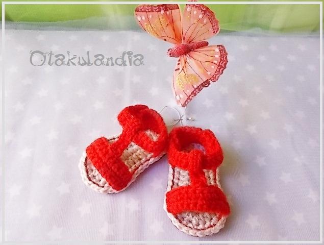 sandalia crochet clasica rojo-0m-otakulandia.es (3)