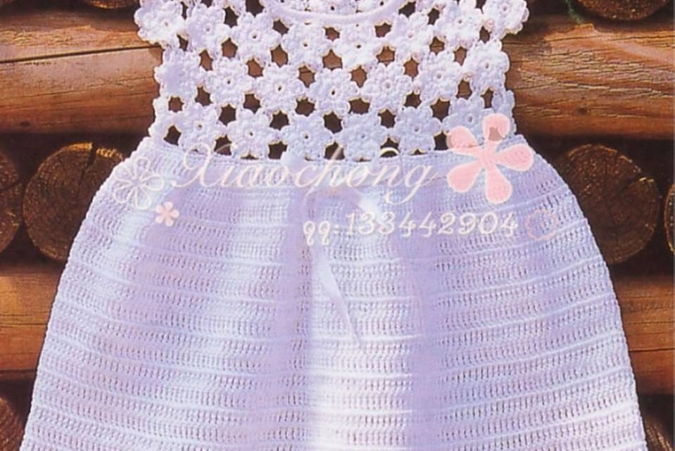 vestido nena crochet-otakulandia.es