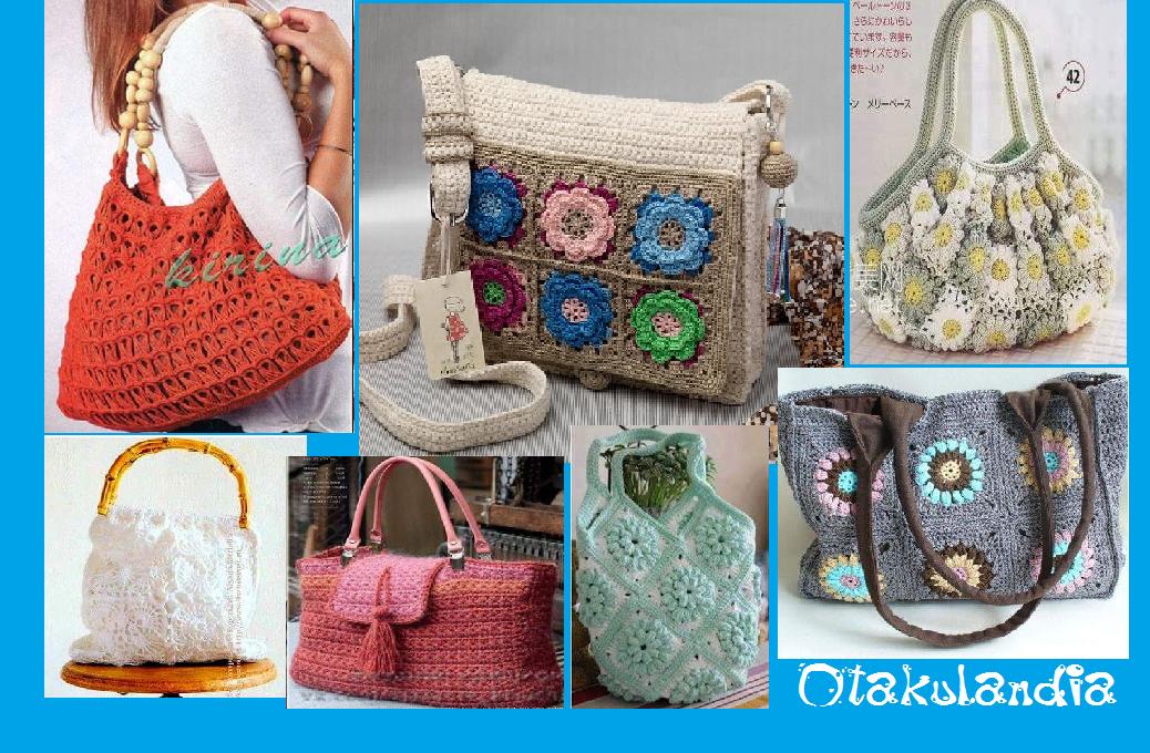 12 Esquemas Bolsos de Moda en Crochet   Otakulandia.es