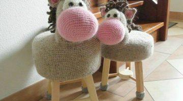 banquetas animalitos crochet-otakulandia.es (1)