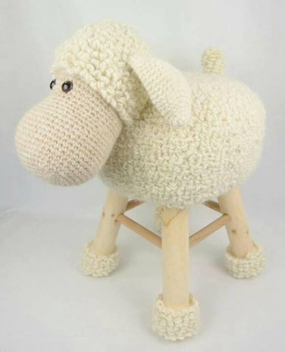 banquetas animalitos crochet-otakulandia.es (3)