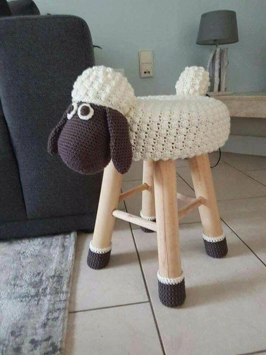 banquetas animalitos crochet-otakulandia.es (7)