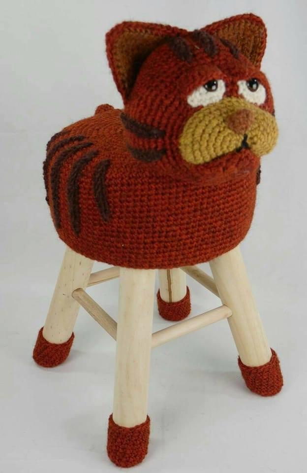 banquetas animalitos crochet-otakulandia.es (8)