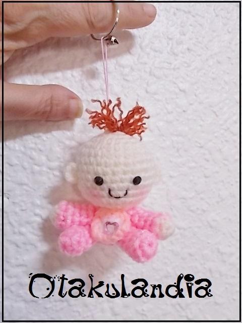 bebe-llavero-crochet-otakulandia.es