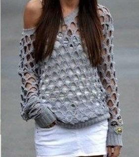 bluson calado verano crochet-otakulandia.es (1)