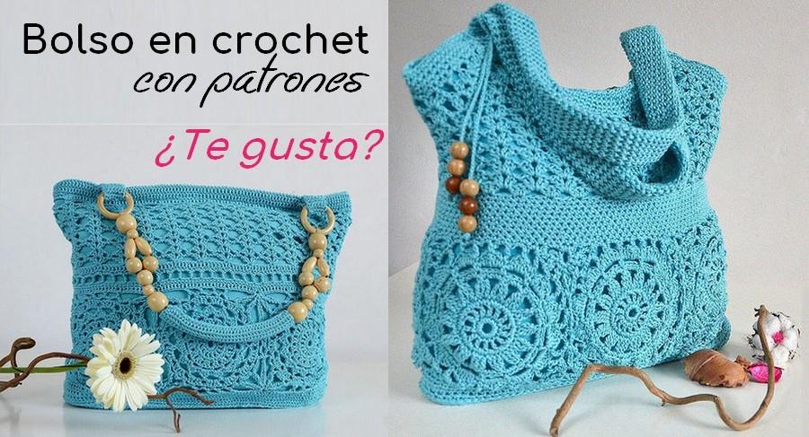 El Bolso más Lindo en Crochet! Patrón | Otakulandia.es