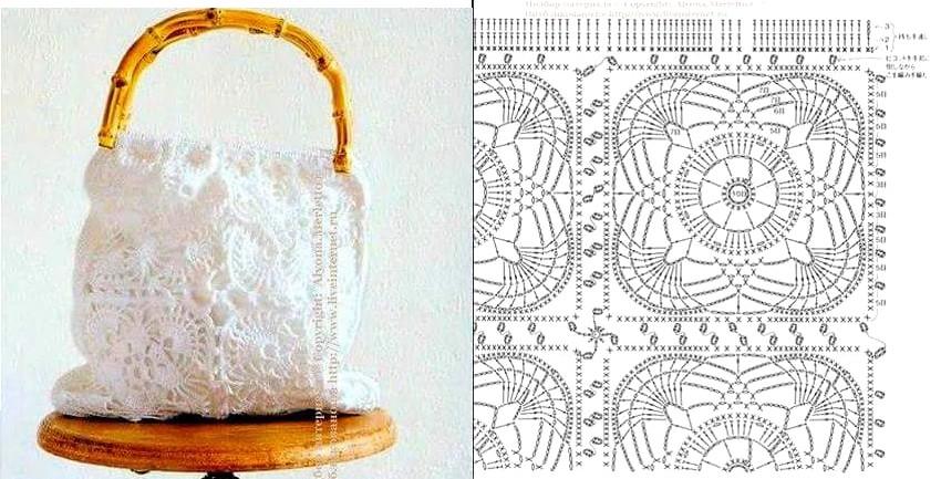 12 Esquemas Bolsos de Moda en Crochet | Otakulandia.es