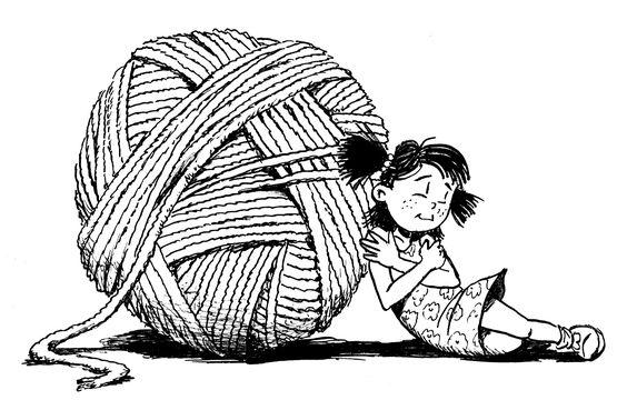 dibujos artesanas tejedoras-otakulandia.es (13)