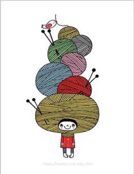 dibujos artesanas tejedoras-otakulandia.es (32)