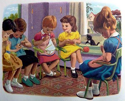 dibujos artesanas tejedoras-otakulandia.es (35)