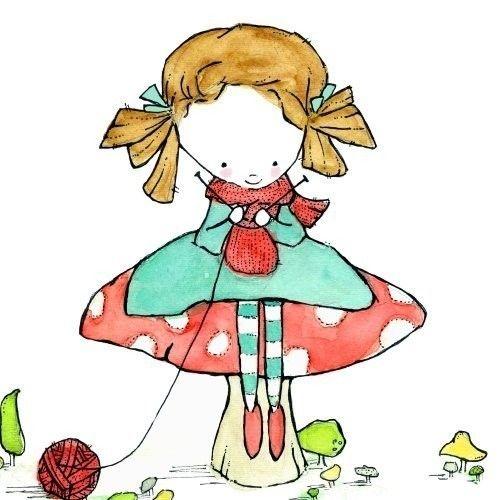 dibujos artesanas tejedoras-otakulandia.es (39)