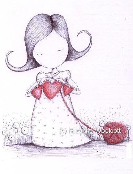 dibujos artesanas tejedoras-otakulandia.es (6)