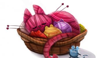 dibujos artesanas tejedoras-otakulandia.es