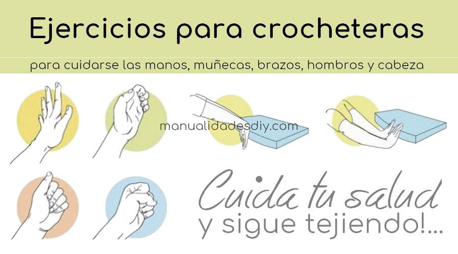 ejercicios artesanas crochet-otakulandia.es
