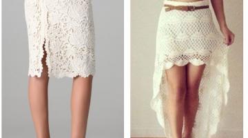 falda rodilla crochet
