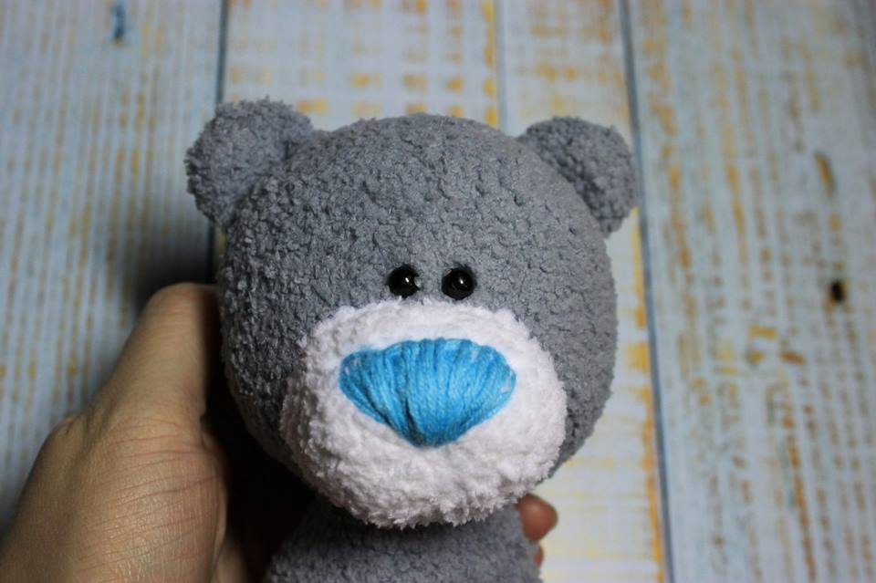 osito amigurumi-crochet-otakulandia.es