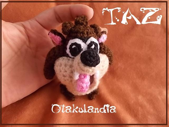 taz-demonio tasmania-llavero-crochet-otakulandia.es (1)