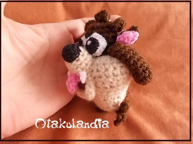 taz-demonio tasmania-llavero-crochet-otakulandia.es (2)
