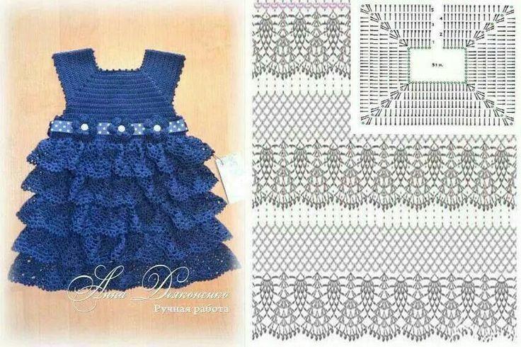 24 Vestidos para Princesitas - Patrones | Otakulandia.es
