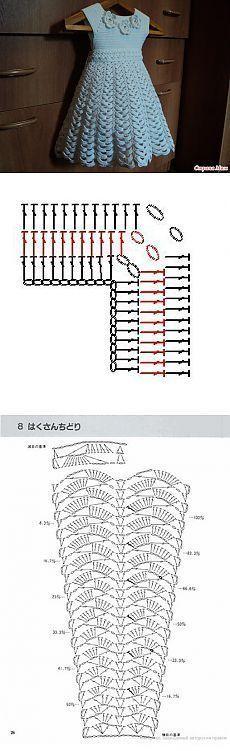 vestido nina crochet-patron-grafico-esquema-otakulandia.es (10)