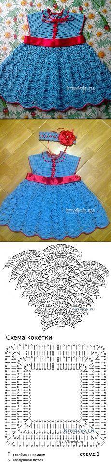 vestido nina crochet-patron-grafico-esquema-otakulandia.es (4)