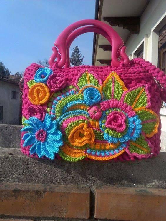 bello bolso crochet-otakulandia.es  (7)