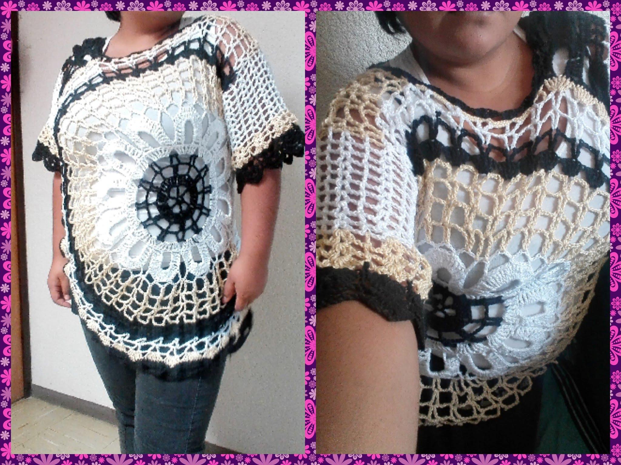 bluson circulo crochet-manga larga-patron-tutorial-esquema-otakulandia.es (9)