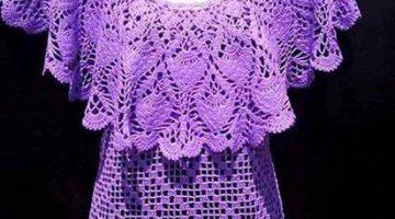 bluson con volante-crochet-tutorial-otakulandia.es