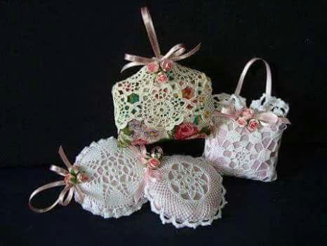 boda souvenir-saco lavanda-crochet-otakulandia.es