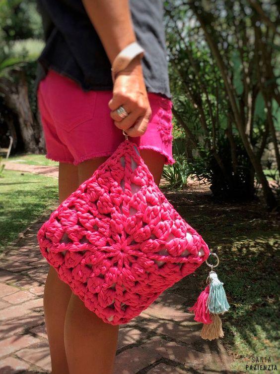 bolso bonito crochet verano-otakulandia.es (7)
