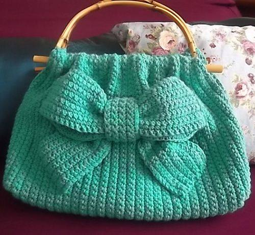 bolso lazo crochet-otakulandia.es