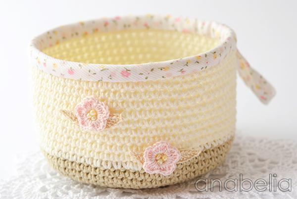Crochet basket 4 by Anabelia