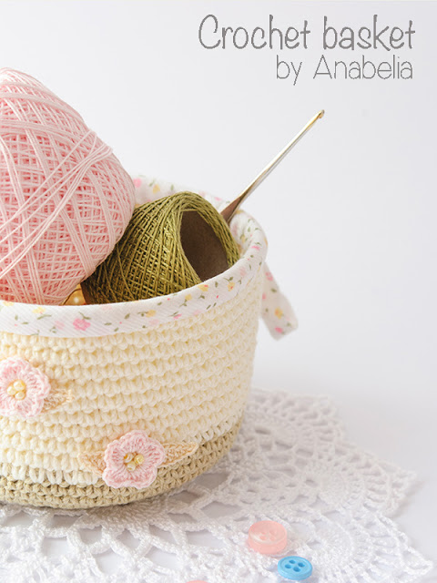 Crochet basket 1 by Anabelia