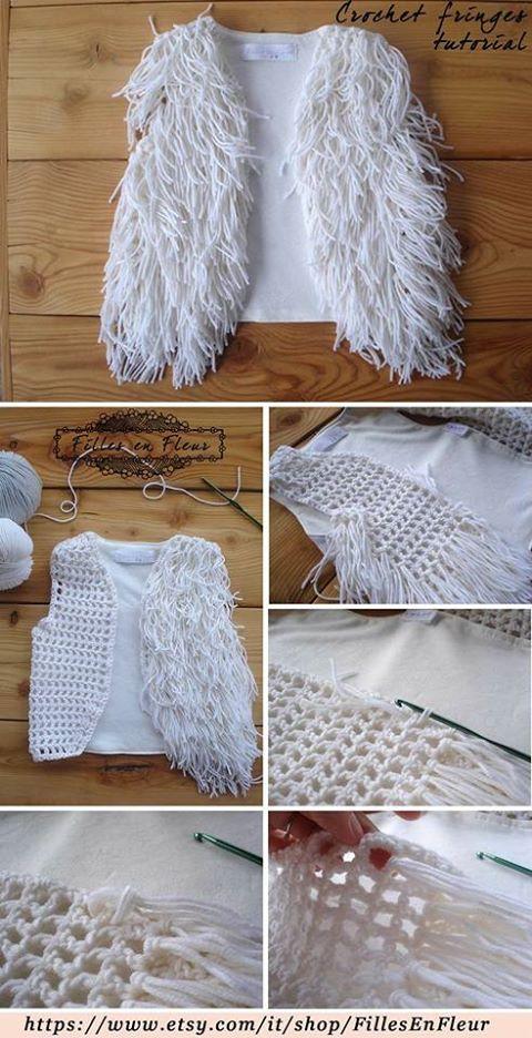 Chaquetones y Chalecos Vintage en Crochet | Otakulandia.es