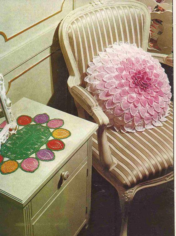 Decora tu Casa! Cojines y Fundas de Crochet | Otakulandia.es