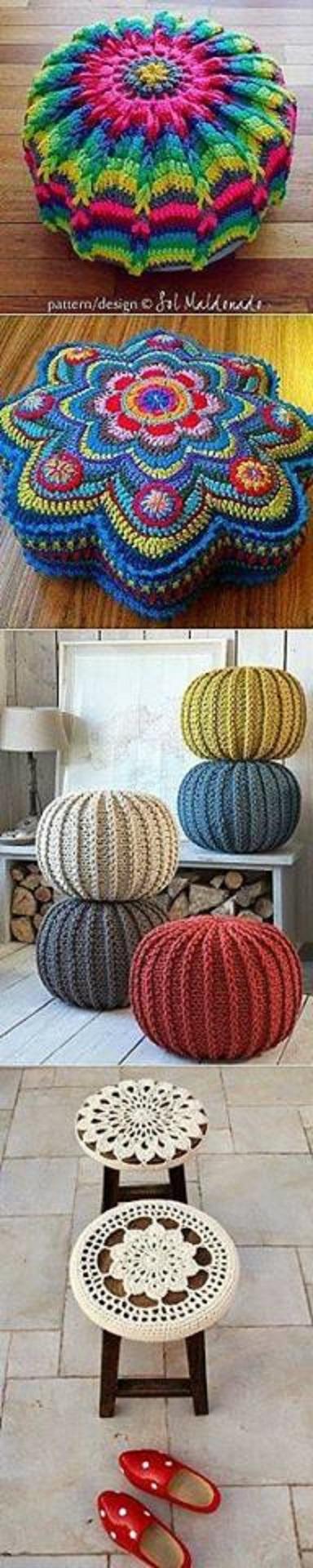 cojines bonitos y practicos crochet-otakulandia.es