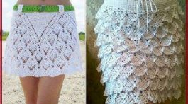 falda verano esquema crochet-otakulandia.es
