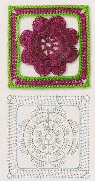granny 3d flor-esquema-patron-otakulandia.es (2)