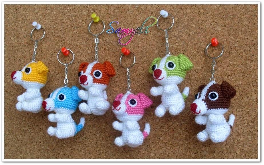 kawaii llaveros crochet-ideas-otakulandia.es. (1)
