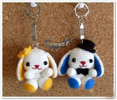 kawaii llaveros crochet-ideas-otakulandia.es. (13)