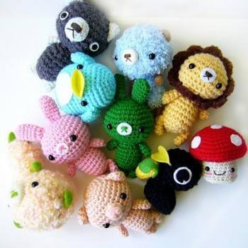 kawaii llaveros crochet-ideas-otakulandia.es. (14)
