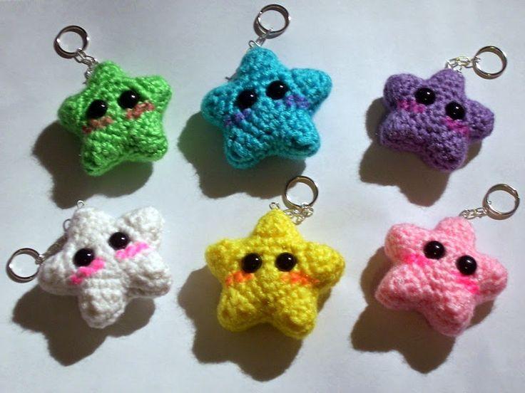 kawaii llaveros crochet-ideas-otakulandia.es. (15)