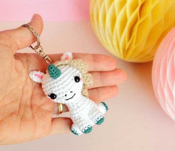 kawaii llaveros crochet-ideas-otakulandia.es. (2)