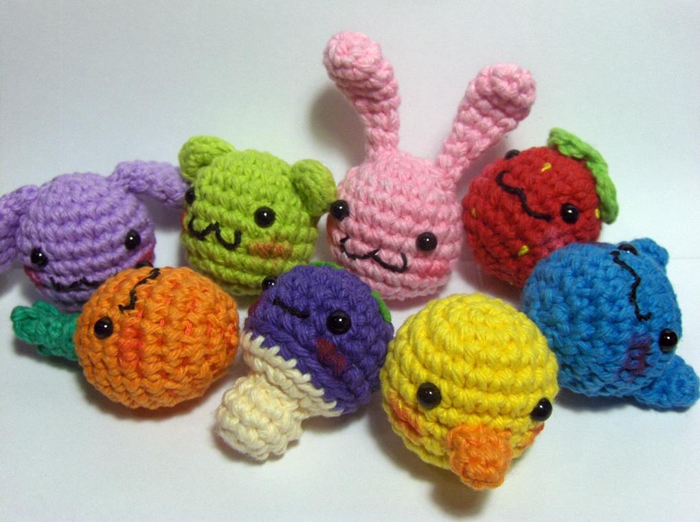 kawaii llaveros crochet-ideas-otakulandia.es. (3)